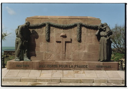 memorial to fallen soldiers, Biarritz