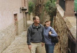 Meg & Dan in Albarracin