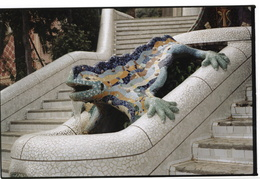 water fountain, Parc Guell