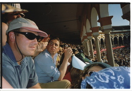 Dan at the bullfights