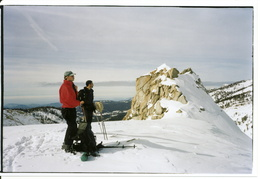 Steve & Jim on top of the slope