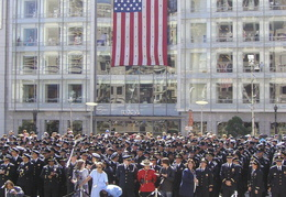 9-11 anniversary in San Francisco