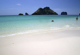 Beach along the Andaman Sea