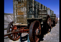 borax wagons, Death Valley