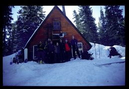 Ludlow hut group shot