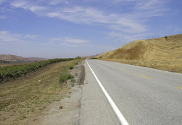 Highway 25 outside of Hollister