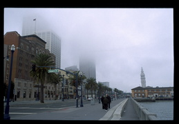 fog over San Francisco