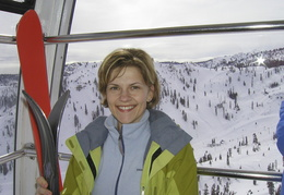 Tracy at Squaw Valley