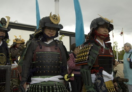 Japanese warriors