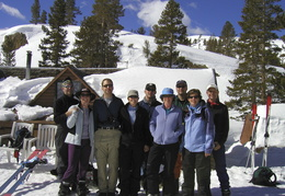 Group Shot at Tioga Pass