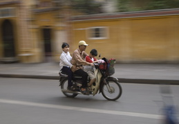getting around Hanoi