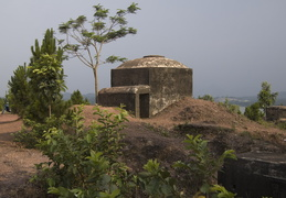 bunker overlooking the perfume river