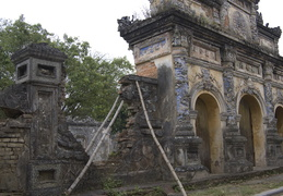 remains from the Forbidden Purple City, Hue