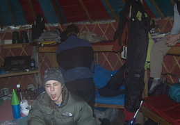 Life in a yurt