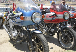 old-school Ducatis