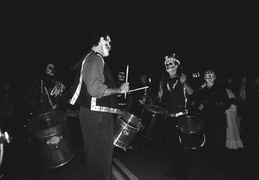 Day of the Dead drummers