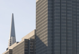Embarcadero Center & the Transamerica building
