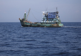 fishing boat, Andaman Sea