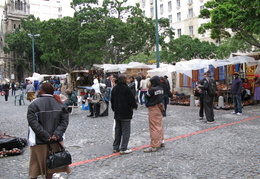 Cape Town crafts market