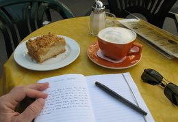 Breakfast & journal