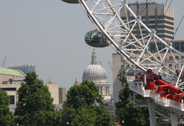 London Eye & St. Paul's Cathedral