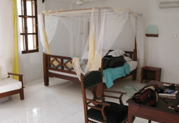 Our room in Zanzibar