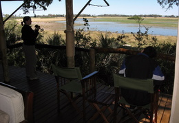 Room with a View, Tubu Tree Camp