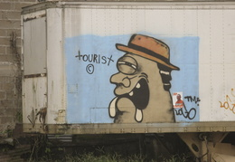 tourist graffiti