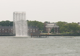 Waterfalls in New York Harbour