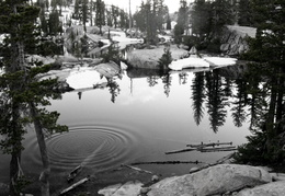 ripples in Granite Lake