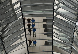 reflections in the Reichstag