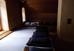 sleeping quarters in Karlingerhaus