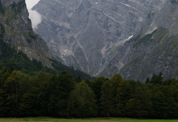 llooking to the peaks surrounding Konigsee