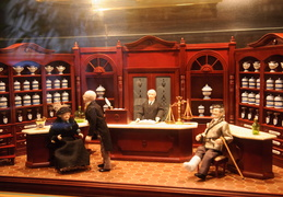 pharmacy museum diorama