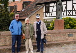 Roland, Christel & Bill in Speyer