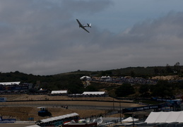 fly-by before the races begin