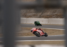 Motorcycle racing at Laguna Seca