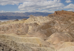 looking across Death Valley