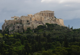 Acropolis seen from Filopappou hill