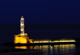 Hania lighthouse