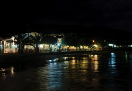 Plakias at night