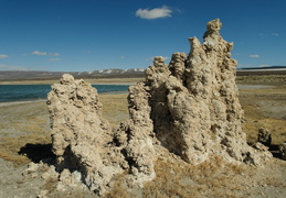 Tufa along the shores of Mono Lake