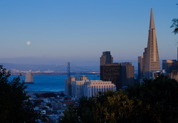 full moon in San Francisco