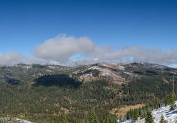 Sep snow in Truckee