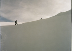ascending the slope