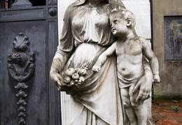 Statue from Recoleta cemetery